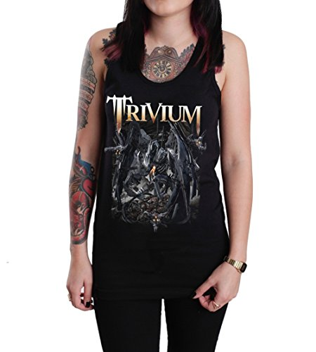 Trivium Through Blood Dirt and Bone Unisex Tank Top Shirt Black (Medium) (Bones Tank)