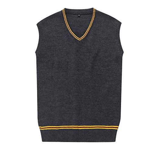 VACIGODEN Unisex Costume Sweater Vest Fall and Winter Cardigan Waistcoat Cosplay Women -