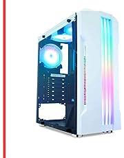Pc Gamer Intel Core i7 9ª, 16GB Ram DDR4, RX 580 8GB, HD 1TB + SSD 120GB, Fonte 500w, Gabinete com LED