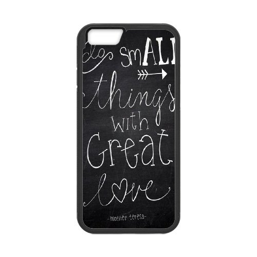 Gary iPhone 6 Plus,6S Plus(5.5) Case,Personalized Custom Chalkboard Quotes Printed,Unique Design Protective TPU Hard Phone Case Cover