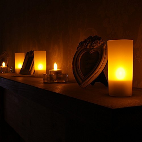 Realistic Bright Flameless Led Tea Light Candles Bright