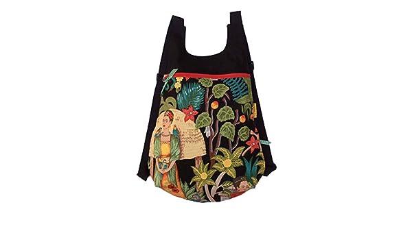Mochila de tela botánica, Mochila para mujer naturaleza, Mochila ...