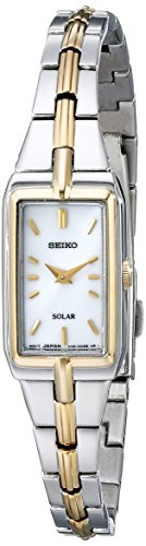 SEIKO Solar 2-Tone Watch