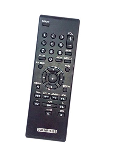 Replaced Remote Control Compatible for Sony DVP-FX930 DVPFX755 DVP-FX975 DVPFX94C DVP-FX750/P Portable CD DVD Player