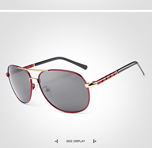 Adultos de de de Marco Gafas de Mujer Polaroid de Gafas Conducción Moda Sol Sol Sol Unisex Sol Gran de Gafas UV400 GR Gran Hombre Espejo para Gafas para Gafas Brown Green Sol Color xYwKBpIIqS