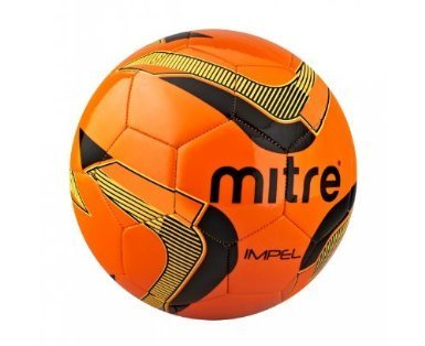 Mitre Impel Training Football - SIZE 4 -ORANGE/BLACK/YELLOW - BAG OF 10 BALLS