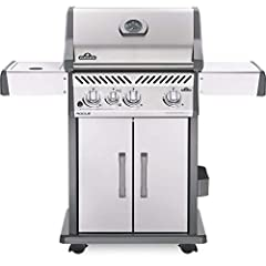 Napoleon prides itself on taking your grilling experience to the next level & The Rogue 425 with infrared side burner in Stainless Steel gas grill is the perfect way to make your (sear) mark while cooking. This mid-sized grill can feed a ...