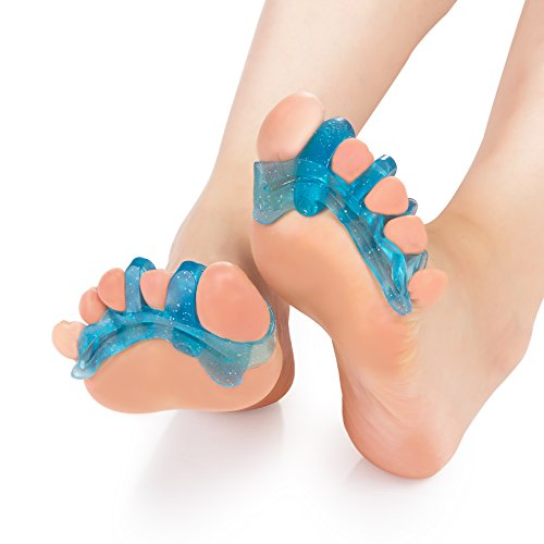 Yoga Shoes For Bunions: ToePal: Gel Toe Separator & Toe Stretcher For Yoga