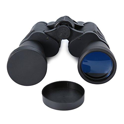 Babimax Jumelles pour Chasse, 20x50 Observation des Oiseaux Grand Angle Anti-Brouillard Ultra Binoculaire HD BAK4 Grand Oculaire Paire de Téléscope Haute Puissance pour Camping Concert Sportifs Soir(Noir)
