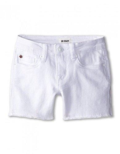 Hudson Kids Girls - 4 Fray Shorts in White (8)