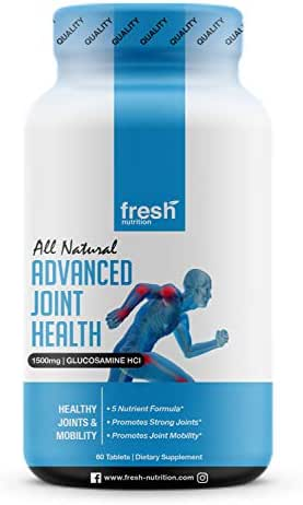 Advanced Joint Health Contains Every Proven Ingredient for Joint Pain - Glucosamine HCI, Chondroitin, MSM, Collagen Type I & II, White Willow Bark - The Only Product You Need for Joint Health