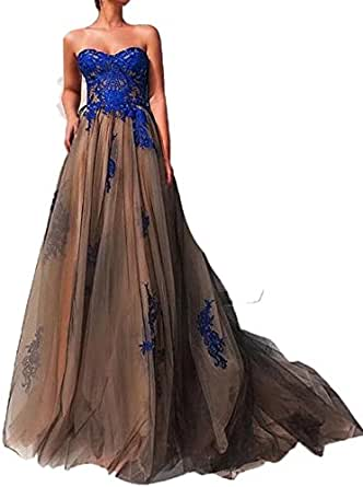 WellBridal Elegant Women's Evening Dresses With Appliques