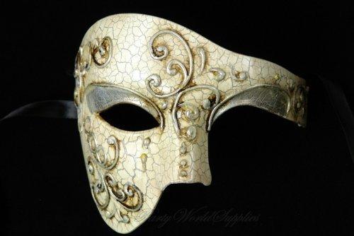amazon com phantom of the opera venetian masquerade mask new with