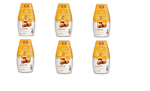 (Wisdom Sweet Drops Caramel 1.7 fl.oz. 6 pack)