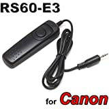 SHOPEE BRANDED RS-60E3 Shutter Release Remote Cord For Canon Shutter Release Cable for EOS 300D EOS 350D EOS 400D EOS 450D EOS 500D EOS 550D EOS 600D • EOS 1000D • EOS 1100D EOS 60D EOS 60Da EOS 70D