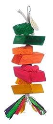 Pink Parrot Stack \'em Up Pine Wood Blocks, Large