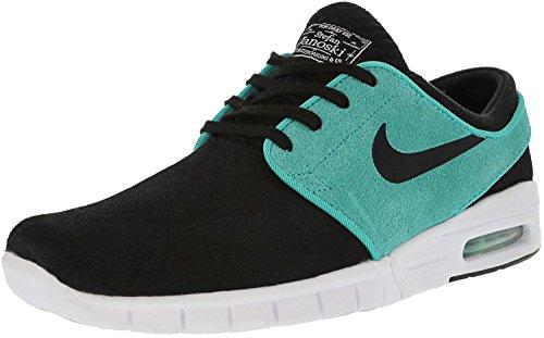 Nike Mens Trainerendor 11 Scarpe Da Skateboard Alte Alla Caviglia Merlot / Lime-flash Lime