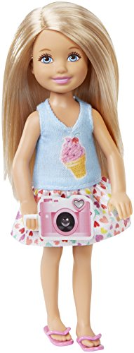 Barbie Great Puppy Adventure Chelsea Doll with a Camera (Barbie And Sisters In The Great Puppy Adventure)