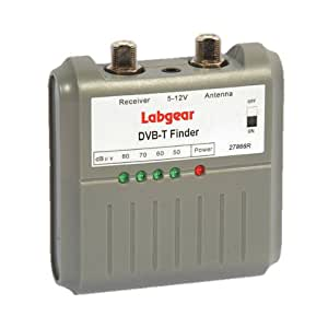 Labgear TV Aéreo DVB T Signal Strength Finder TDT & HD