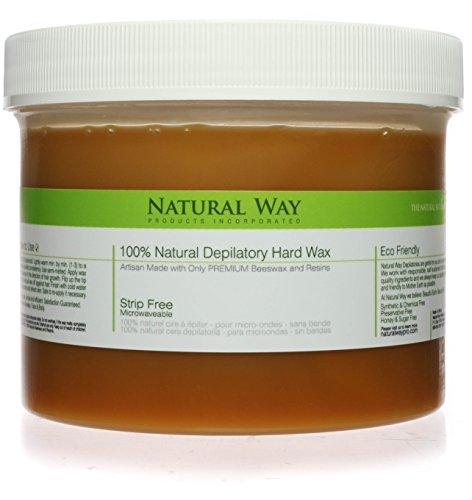 Natural Way 24oz Depilatory Hard Wax -
