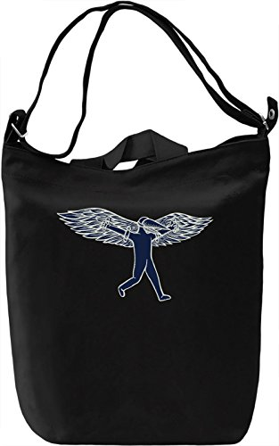 Flying man Borsa Giornaliera Canvas Canvas Day Bag| 100% Premium Cotton Canvas| DTG Printing|
