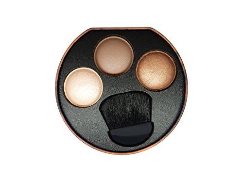 W7 Solar Glow 3 Colour Bronzer, Bronze Shimmer & Highlighter Palette
