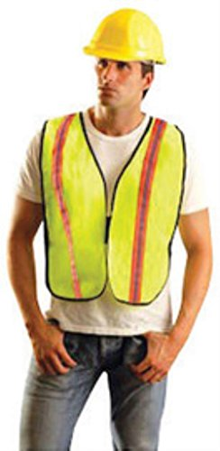 Occulux Economy Vest (Reg Yellow OccuLux Lightweight Polyester And Mesh Non-ANSI Economy Vest (8 Each))