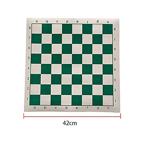 OSISTER7 Tabla de ajedrez, Archer Ajedrez para adultos y niños, de piel sintética enrollable, tabla de ajedrez…
