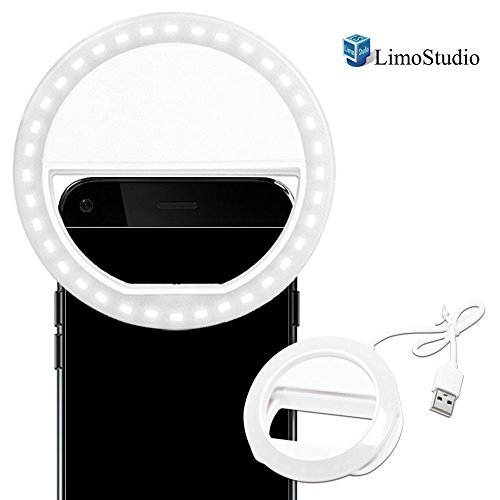 LimoStudio Smartphone Brightness Rechargeable AGG1049V2
