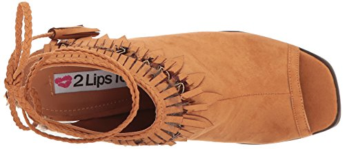 2 Too Dress Women Lips Roxy Sandal Tan rrwqS5T