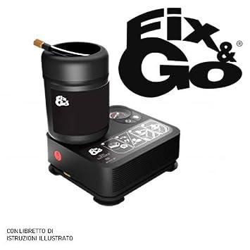785c0838ae Fix & Go Automatic Tek airflat Repairs Tyre Inflation Compressor Kit 450  ml: Amazon.co.uk: Car & Motorbike