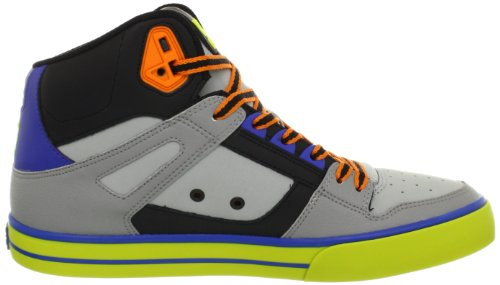 DC Shoes DC Shoes - Schuhe - SPARTAN HI WC SHOE - D0302523-ARQD - grey D0302523-ARQD - Zapatillas de deporte de cuero para hombre Black/Tennis