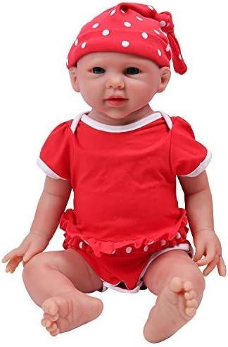 IVITA Full Body Silicone Reborn Baby Doll Realistic Newborn Baby Doll Twins Lifelike Blue Eyes Boy and Girl for Kids Doll Collector Boy 11.8 inch 1.2 kg