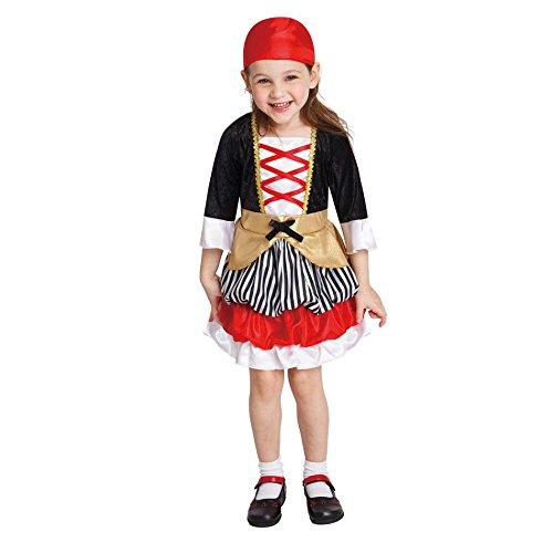 Totally Ghoul Lil' Pirate Toddler Girls Costume (4-6 years) (Little Girls Pirate Costume)