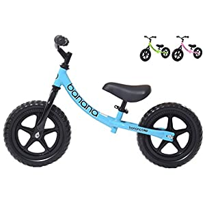 Banana Bike LT - Lightweight Balance Bike for Kids - 2, 3 & 4 Year Olds (Blue)
