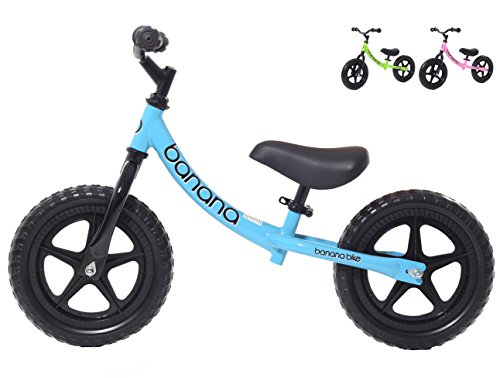 Banana Bike Balance Bike for Kids - 2, 3 & 4 Year Olds - Lightweight LT (Blue)