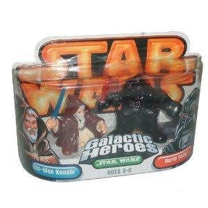 Star Wars Galactic Heroes Obi-Wan Kenobi & Darth Vader