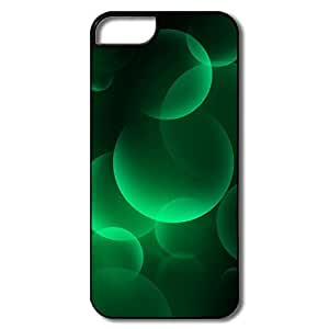 IPhone 5S Case, Green Big Bubbles White/black Cases For IPhone 5 5S