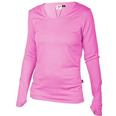 Merino 365 Women's New Zealand Merino, Long Sleeve Top, Thumbloops