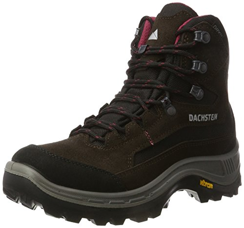 Dachstein Rax Mc Dds Wmn, Zapatos de High Rise Senderismo para Mujer, Dark Brown/Cranberry, Einheitsgröße Marrón (Dark Brown/cranberry)
