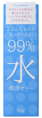 SAGAMI 99% Water Lubrication Jelly with no objectionable Items 【Made in Japan】