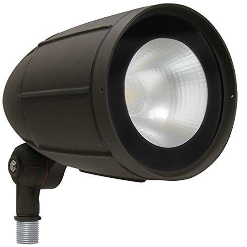 30W LED Bullet Light Aluminum 150W Halogen Equal 3000K MaxLite 100072 by Maxlite