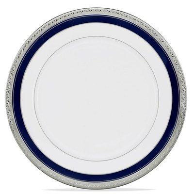 Noritake Crestwood Platinum Dinner Plate (Crestwood Cobalt Platinum 10.5