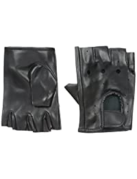 TopTie Best Pole-Dancing Gloves, PU Leather - Black,S