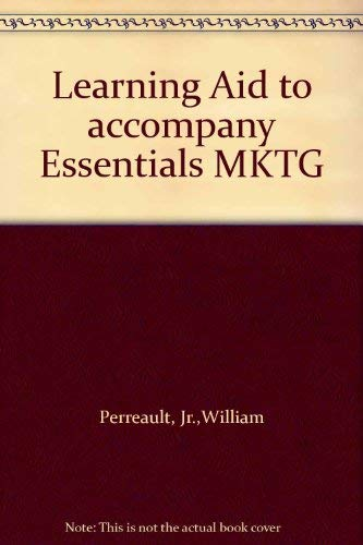 Learning Aid to accompany Essentials MKTG