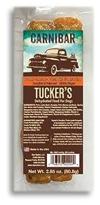 Tucker's Carnibar Dehydrated Dog Food Bars (Lamb & Pork, 2 Pack)