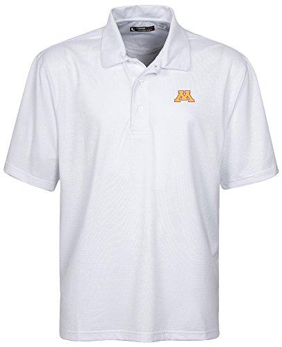 【国内配送】 NCAA Minnesota x Golden Golden l、ホワイト GophersメンズリンクTech Stretch Tonalジャカード半袖ポロシャツ、3 x l、ホワイト B00KE165AO, ウィッチーズキッチン:35d27c5e --- a0267596.xsph.ru
