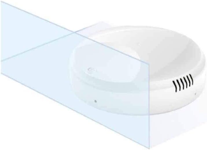 QHYY Ultra-Mince Smart Clean Robot Aspirateur Anti-Collision Amovible Mini USB Cleaner A