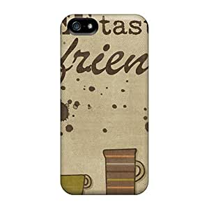 CC WalkingDead Case For Iphone 5/5s With Nice Coffee With A Friend Appearance