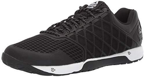 Reebok Men's CROSSFIT Nano 4.0 Cross Trainer, Black/White, 12 M US